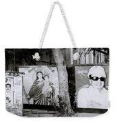 Jesus And The Gangster Weekender Tote Bag