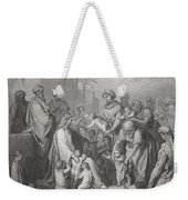 Jesus Blessing The Children Weekender Tote Bag