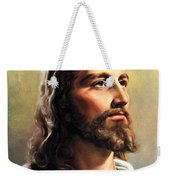 Jesus Christ Weekender Tote Bag by Munir Alawi