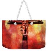 Jesus Christ On The Cross Weekender Tote Bag