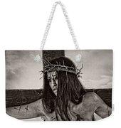 Jesus Christ Portrait Weekender Tote Bag
