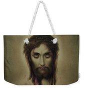 Jesus Christus Portrait By Martie Circa 1876 Weekender Tote Bag