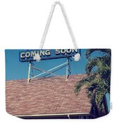 Jesus Coming Soon Church Maui Hawai Weekender Tote Bag