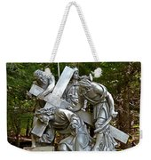 Jesus Falls The First Time Weekender Tote Bag