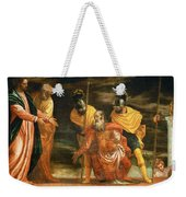 Jesus Healing The Servant Of A Centurion Weekender Tote Bag