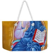 Jesus Holy Trinity Weekender Tote Bag
