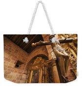 Jesus In Barichara Weekender Tote Bag