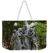Jesus Meets His Mother Weekender Tote Bag