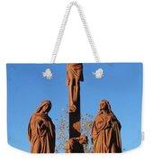 Jesus On The Cross Weekender Tote Bag