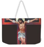 Jesus On The Cross Weekender Tote Bag