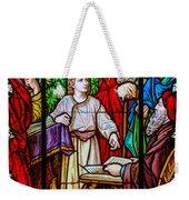 Jesus Teaches In The Temple Weekender Tote Bag