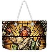 Jesus - The Light Of The Wold Weekender Tote Bag