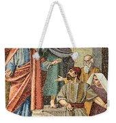 Jesus Visit Weekender Tote Bag