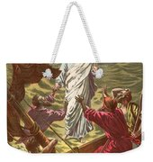 Jesus Walking On The Water Weekender Tote Bag