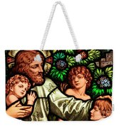 Jesus With Children Weekender Tote Bag