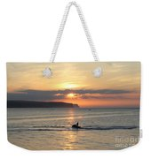 Jet Bike Sunset Weekender Tote Bag