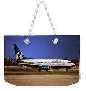 Jet Chicago Airplanes 15 Weekender Tote Bag