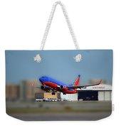 Jet Chicago Airplanes 17 Weekender Tote Bag