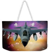 Jet Fighter Aircraft F-16 Falcon Aircraft  Weekender Tote Bag