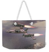 Jet Flying Low Weekender Tote Bag