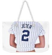 Jeter Fan Weekender Tote Bag