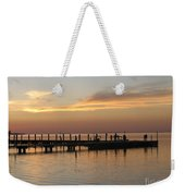 Jetty In The Eveninglight Weekender Tote Bag