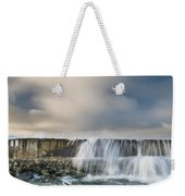 Jetty Spillover Waterfall Weekender Tote Bag