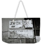 Jew Town In Cochin Weekender Tote Bag