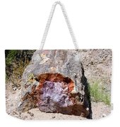 Jewel In Petrified Forest Weekender Tote Bag