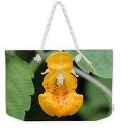 Jewel Weed Blossom Weekender Tote Bag