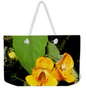 Jewel Weed Weekender Tote Bag