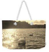 Jewels Of The Lake Weekender Tote Bag