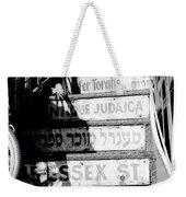 Jewish New York Weekender Tote Bag
