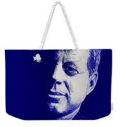 Jfk - Blue Weekender Tote Bag