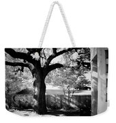 Jfk-the Stockade Fence-dealy Plaza Weekender Tote Bag
