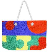 Jigsaw Pieces Weekender Tote Bag