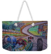 Jim Clark The King Of Spa Weekender Tote Bag
