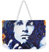 Jim Morrison Chuck Close Style Weekender Tote Bag