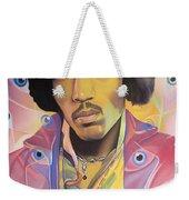 Jimi Hendrix Eyes Weekender Tote Bag