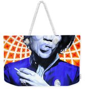 Jimi Hendrix Orange And Blue Weekender Tote Bag