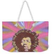 Jimi Hendrix Pastel Weekender Tote Bag