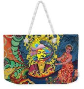 Jimi Hendrix Rainbow Bridge Weekender Tote Bag