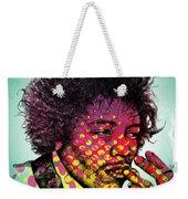 Jimmie Hendrix  Weekender Tote Bag