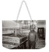 Jimmy At Mt Cube Sugar Farm Weekender Tote Bag by Edward Fielding