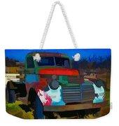 Jimmy In Taos - Abstract Weekender Tote Bag