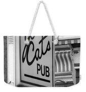 Jo Cats Pub Weekender Tote Bag