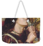 Joan Of Arc Kisses The Sword Of Liberation Weekender Tote Bag