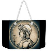 Joan Of Arc - Middle Ages Weekender Tote Bag