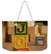 Joe - Alphabet Blocks Weekender Tote Bag