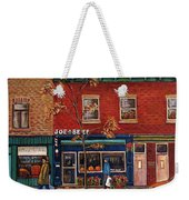 Joe Beef Restaurant Montreal Weekender Tote Bag